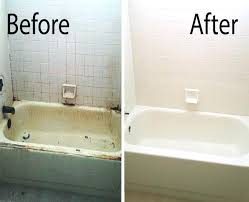 bathtub refinishing kit refinish a before after picture of mesa refinished by our team contemporary quintessence