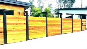 Metal fence design Unique Modern Fence Gate Contemporary Wood Fence Mid Century Modern Fence Wood Metal Designs Horizontal Wood Fence Infaath Modern Fence Gate Modern Fence Modern Fence Ideas Horizontal Fence