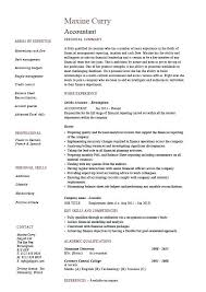 Accounting Resume Templates Beauteous Accounting Resumes Templates Accounting Resume Template Accounting