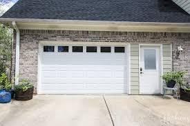 replacing double garage door with single and exterior door 7