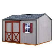 cypress 12 ft x 10 ft wood storage shed kit