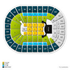 Td Bank Arena Boston Seating Chart 80 Exhaustive Td Garden End Stage Seating Chart
