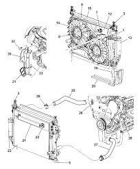 2005 dodge magnum radiator related parts mopar parts giant rh moparpartsgiant 2000 dodge dakota parts diagram 2005 dodge caravan parts diagram