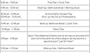 Free Printable Visual Schedules Autism Daily Schedule Template ...