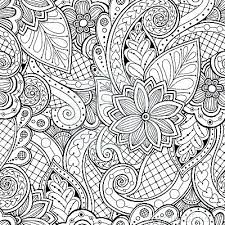 coloring wallpaper vector ethnic pattern can be used for wallpaper pattern fills coloring books and coloring wallpaper coloring book