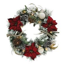 outdoor wreath with led lights. holiday living 30-in pre-lit indoor/outdoor battery-operated green/ outdoor wreath with led lights o