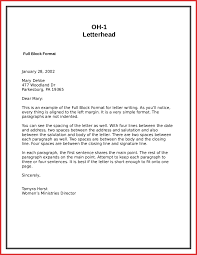 Personal Letter Writing Format Example Gallery Letter Samples Format