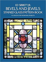Stained Glass Pattern Books New Amazon Bevels And Jewels Stained Glass Pattern Book 48 Designs
