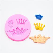 Jual Mahkota Cetakan Kue Crown Princess Cake Topper Fondant