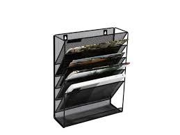 clatina wall mount file organizer