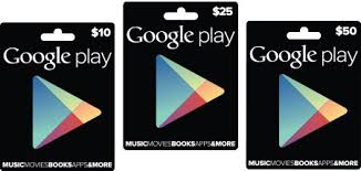 Image result for google play gift cards