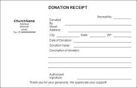 donation receipt letter templates church donation form template sample charitable donation receipt