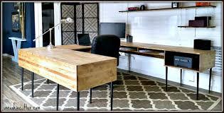 modern desk diy