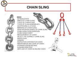 Lifting Chain Ratings Chart Chain Sling