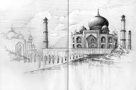 architectural hand drawings. Nicholas-DeBrunye-Finalist-Student-Travel-Sketch Architectural Hand Drawings
