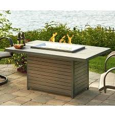 rectangle gas fire pit table play napoleon victorian rectangle patioflame gas fire pit table