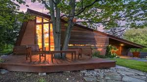 frank lloyd wright house in michigan listed for first time