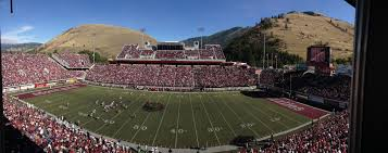 A Panoramic View Of Washington Grizzly Stadium From The