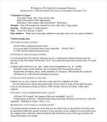 Apa Style Literature Review Magdalene Project Org