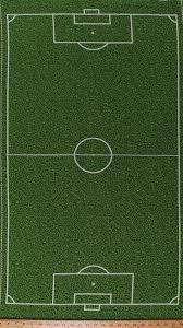 235 X 44 Panel Soccer Field Grass Turf Playing Field Diagram