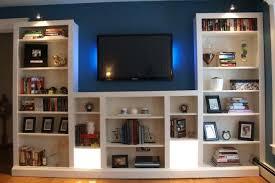 ikea tv stand with bookshelves 23 ingenious ikea billy bookcase hacks ikea  besta tv bench shelf