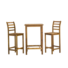 Buy Pentecost Timber Outdoor Bar Table And Stool Set Online Australia