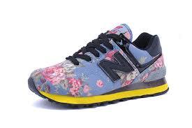 new balance hommes. ml574vct rose fleur rouge/bleu/noir chaussures homme new balance 574 hommes o