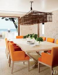 a na beach retreat bees a rustic and refined family getaway beach dining roomdining