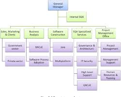 Software Development Org Chart Figure 3 From Using Essence Alphas In A Cmmi Level 5