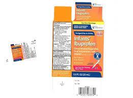 Infant Motrin Dosage Chart 2018 Infant Ibuprofen Recall Child Painkiller Sold At Walmart