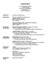 Amazing Residence Life Resume Gallery - Simple resume Office .