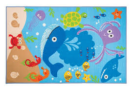 flair rugs matrix kiddy under the sea blue