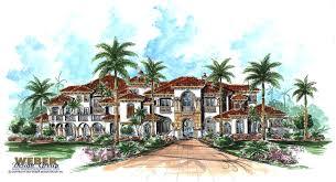 italian architectural style mediterranean beach house