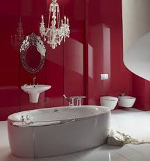 Red Bathroom Decor Black White And Red Bathroom Decorating Ideas Black And White