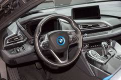 bmw i8 interior production. bmw i8 interior car stock photo bmw production