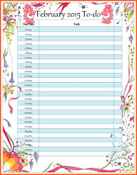 class list template word other size s to do list word document weekly task list template
