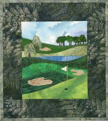 Best 25+ Golf quilt ideas on Pinterest | Golf club covers ... & Karen Eckmeier golf quilt Adamdwight.com