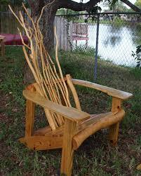 rustic tree furniture. rustic adriondack chair tree furniture
