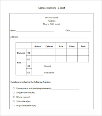 Sample Delivery Note Template Unique 44 Delivery Receipt Templates PDF DOC Free Premium Templates
