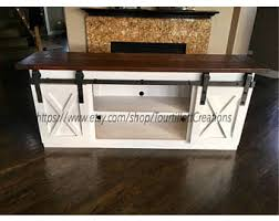 distressed entry table. tv console/tv stand/entertainment center/barn door/custom/media stand distressed entry table