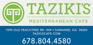 Image result for tazikis suwanee logo