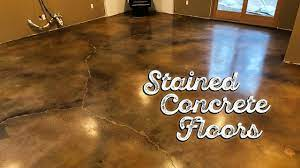 sned concrete floors you