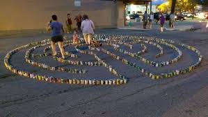 photo of idada first fridays indianapolis in united states canned food labyrinth