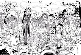 Collection Of Free Printable Halloween Coloring Pages Adults 29