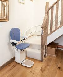 ameriglide platinum curved stair lift demo