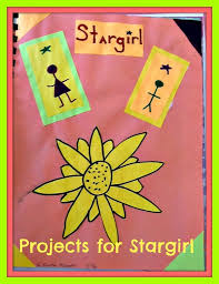 stargirl and lit circle projects pencils and pancakes end of book projects for the book stargirl