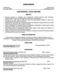 A Professional Resume Template For A Social Worker Want It