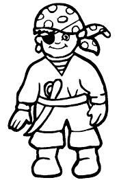 Bambino Pirata Da Colorare Gratis Disegni Da Colorare E Stampare