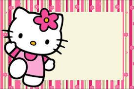 invitation card hello kitty hello kitty with flowers free printable invitations oh my fiesta