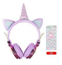 Sevimli Kulaklık Anime Çocuk & Kızlar Hediye Unicorn Pamuklu Kulaklık  Kablolu Çocuk Kulaklıklar - Buy Çocuk Kulaklık,Unicom Pamuk Kulaklık,Sevimli  Kulaklık Product on Alibaba.com